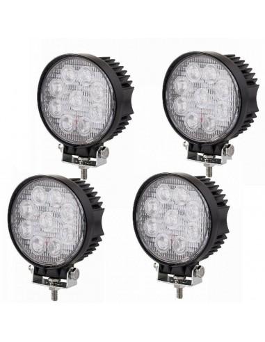 4 x 27W LED LUCE FARO LAMPADA DA...
