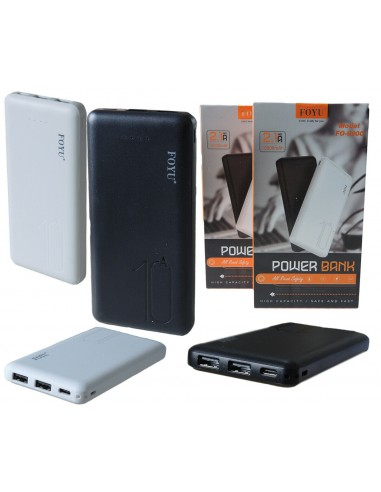 POWER BANK 12000mAh 2 USB  BATTERIA...