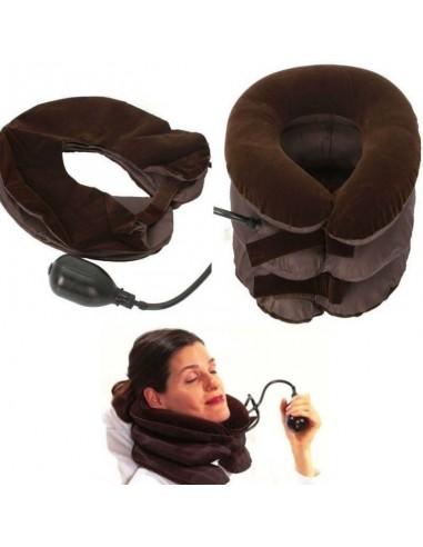 Collare cuscino gonfiabile 3 strati...