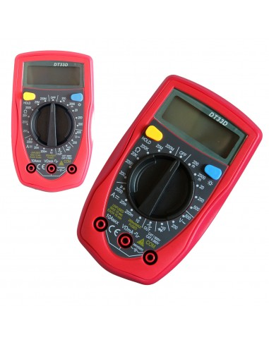 TESTER MULTIMETER DIGITALE 10A...