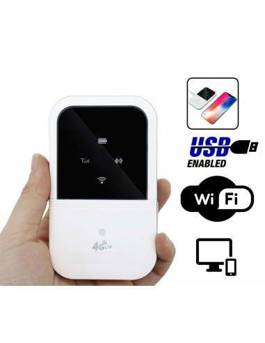 4G LTE Router Mobile Wi-Fi Hotspot...