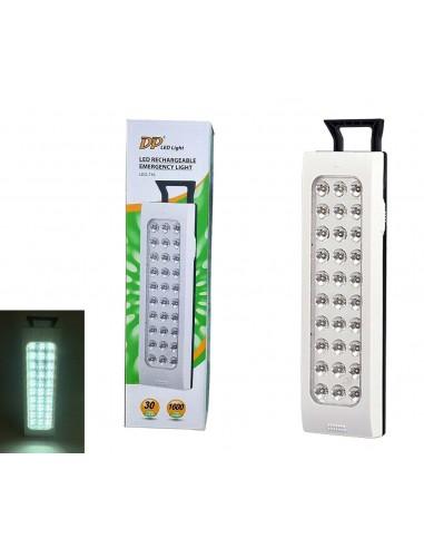 LAMPADA EMERGENZA 30 LED LUCE...