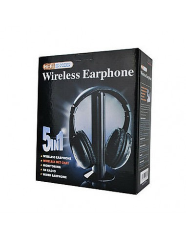 CUFFIA CUFFIE WIRELESS 5 IN1 SENZA...